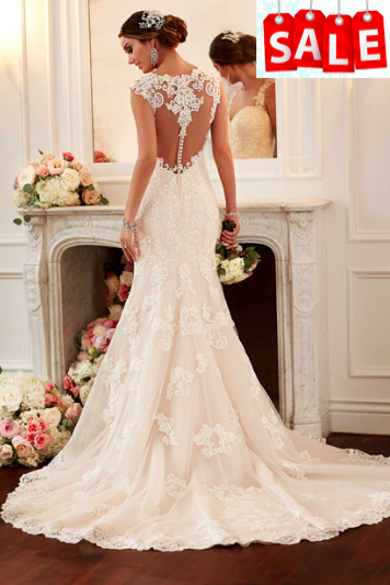 Stella York 6146 Size 16 Ivory over Peony £500 in our Sale