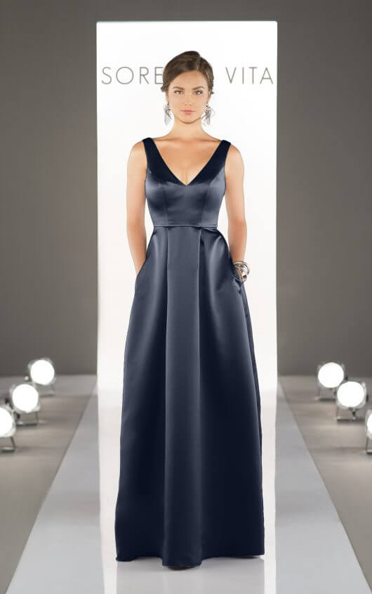Style 8721 shown in Navy