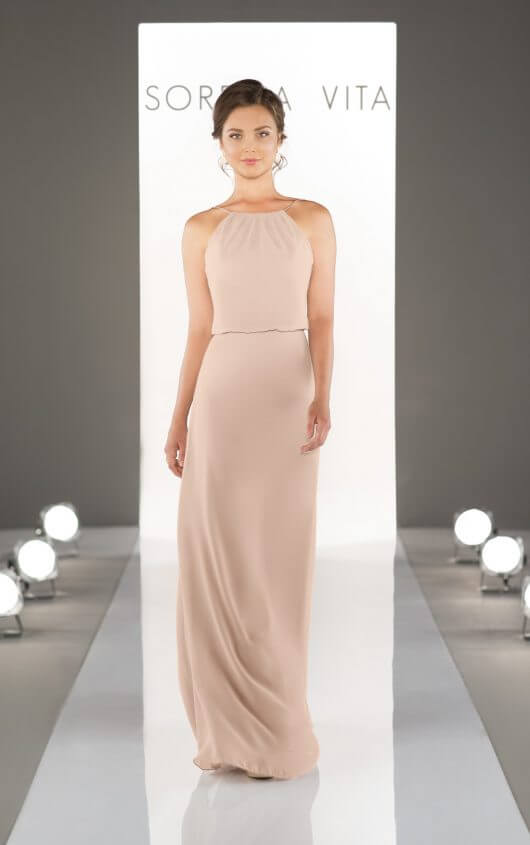Style 8872 shown in Blush