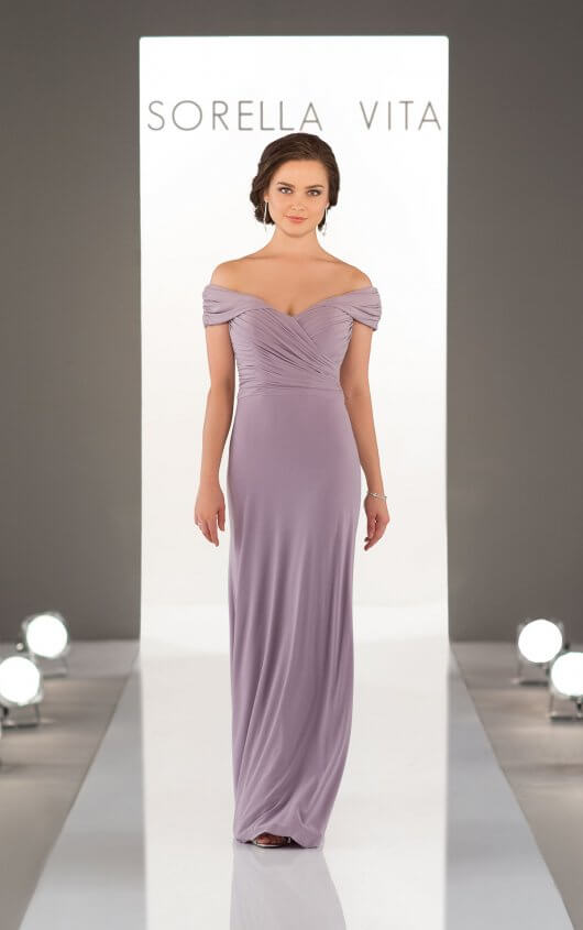 Style 8996 shown in Thistle