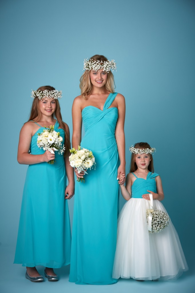 2241 shown here in Turquoise Chiffon